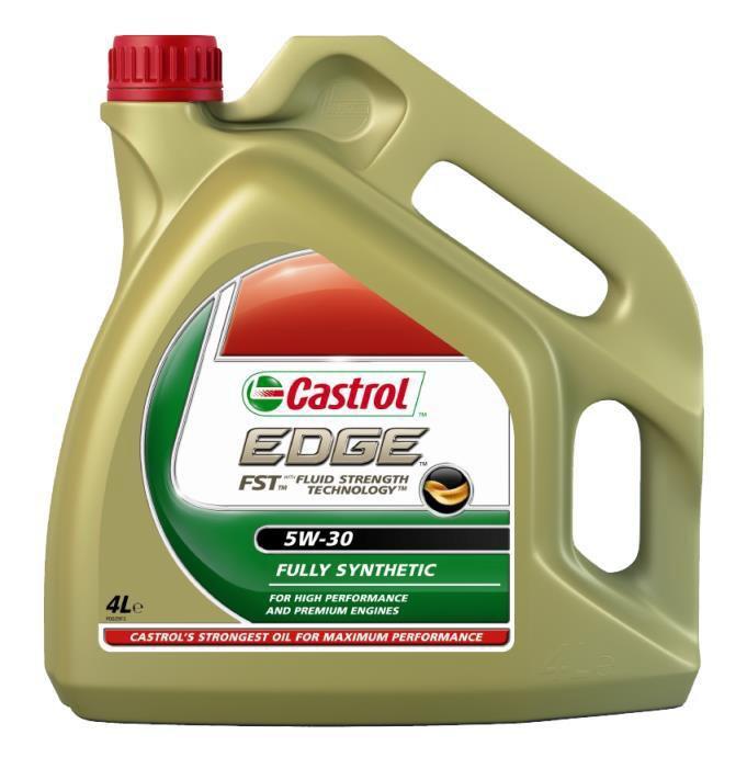 Фото моторное масло Castrol EDGE FST 5W30 4 литра